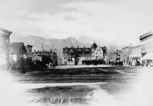 Antler Hotel Colorado Springs 1883
