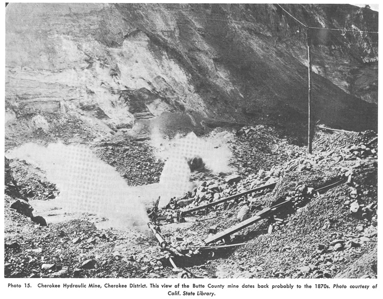 Cherokee Hydraulic Mine