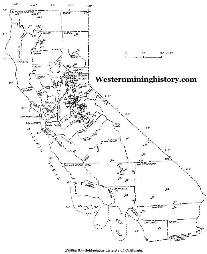 California Gold Production Summary