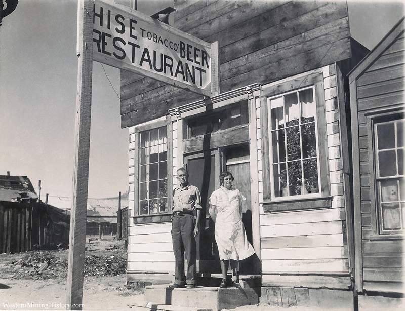 historical photo Bodie California