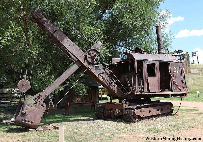 Bucyrus Steam Shovel - Western Museum Of Mining & Industry