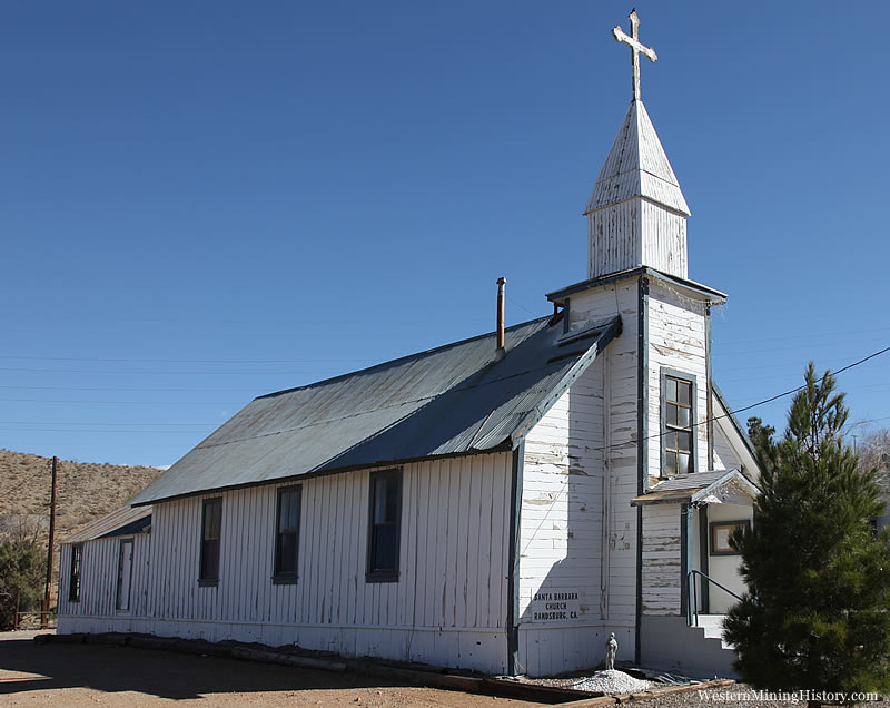Santa Barbara Church - Randsburg
