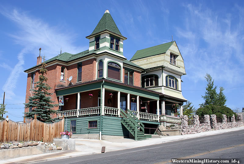 Historic homes butte montana for Victorian house facts