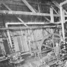Bonanza Mine compressor room at the mill - Baker County Oregon