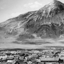 View of Crested Butte Around 1900