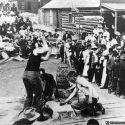 Rock Drilling Contest - Eldora Colorado
