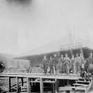Sumpter Forwarding Co. Warehouse in Railroad Yard