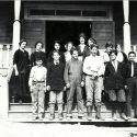 Class Portrait at Kennett School 1915