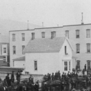 Parade of Odd Fellows & Freeman at Leadville July 4 1879