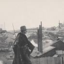 Militiaman Stands Guard at Leadville Mine