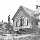 Methodist Church being moved - Sumpter