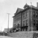 Silver Plume Colorado Schoolhouse