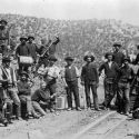 Miners Near White Oaks, New Mexico 1880s