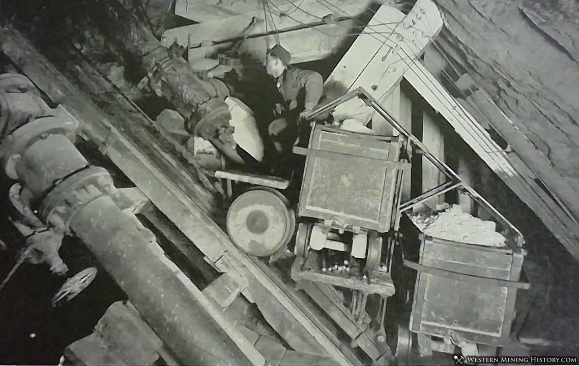 incline shaft of the Elkhorn mine