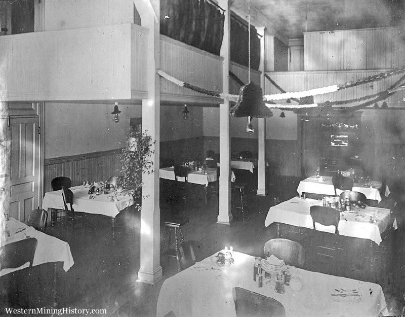 Sumpter Hotel Dining Room